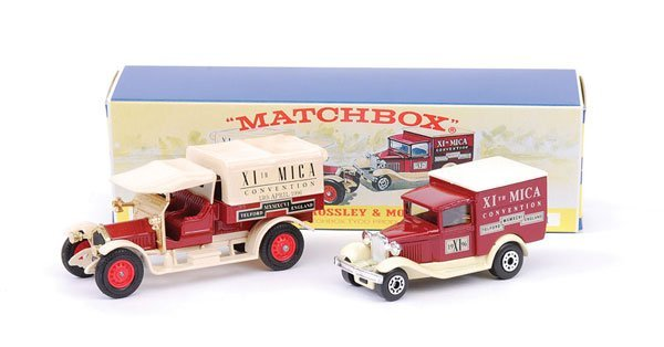 "2001: Matchbox MOY M1 Gift Set ""XI MICA Convention"""
