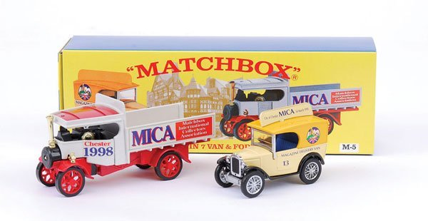"2004: Matchbox MOY M5 Gift Set ""13th Mica Convention"""