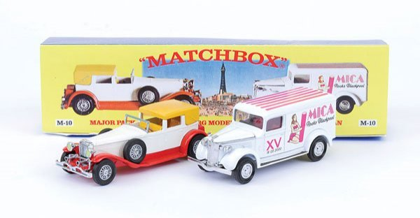 "2008: Matchbox MOY M10 Gift Set ""15th Mica Convention"""