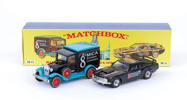 "2009: Matchbox MOY M11 Gift Set ""8th Mica Convention"""