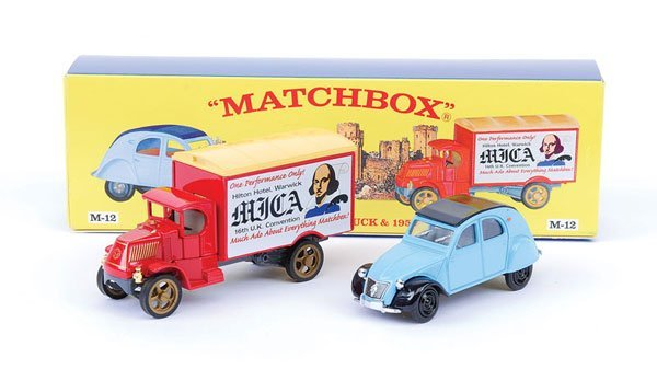 "2010: Matchbox MOY M12 Gift Set ""16th Mica Convention"""