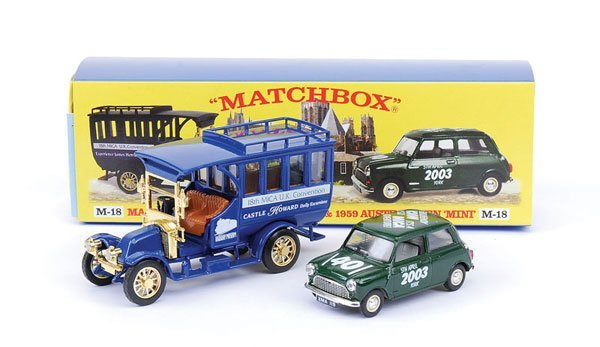 "2014: Matchbox MOY M18 Gift Set ""18th Mica Convention"""