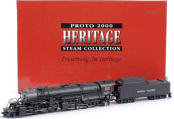 3016: HO Proto 2000 No.23342 2-8-8-2 USRA Loco No.3671