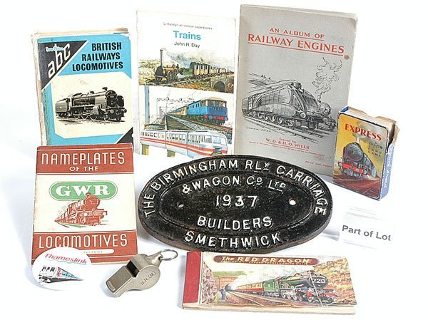 3160: Railwayana Books and Other Interesting Items