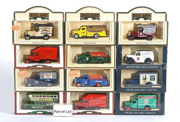 3499: A Quantity of Lledo Days Gone Miniature Diecast