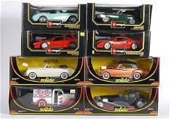 3610: Solido, Bburago - 1/18th scale Cars
