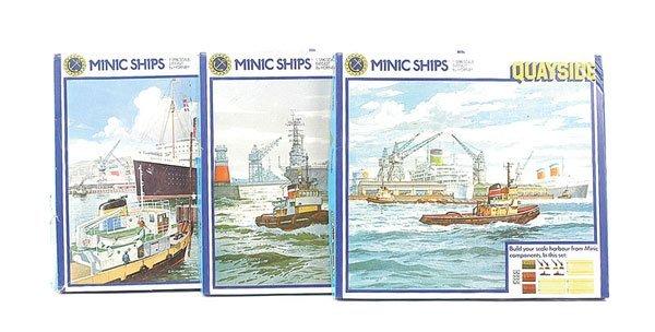 3: Triang Minic Ships Ocean Terminal Set