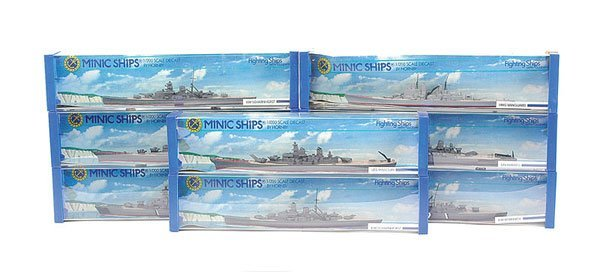 5: Triang Minic Ships Naval Vessels