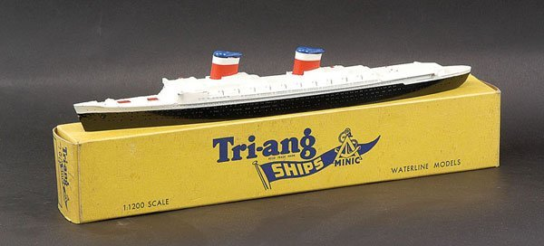 """13: Triang Minic Ships M704 SS """"United States"""""""