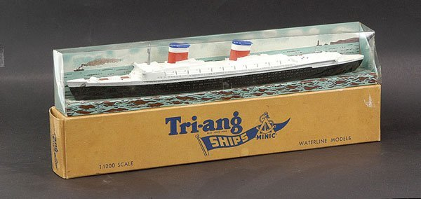 """14: Triang Minic Ships M704 SS """"United States"""""""
