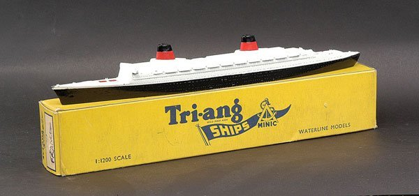 """18: Triang Minic Ships M707 SS """"France"""""""