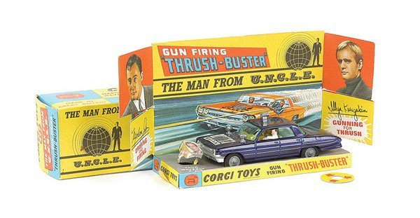 """101: Corgi - No.497 """"The Man From Uncle"""" Thrushbuster"""