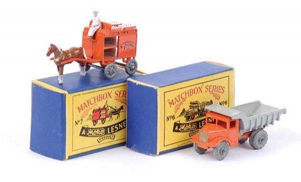1003: Matchbox Regular Wheels No.6a Quarry Truck