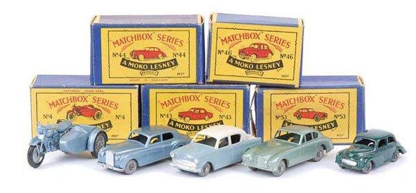 1008: Matchbox Regular Wheels - A Group of 5