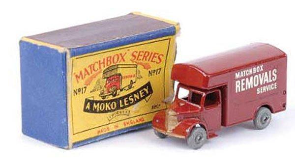1011: Matchbox Regular Wheels 17a Bedford Removals Van