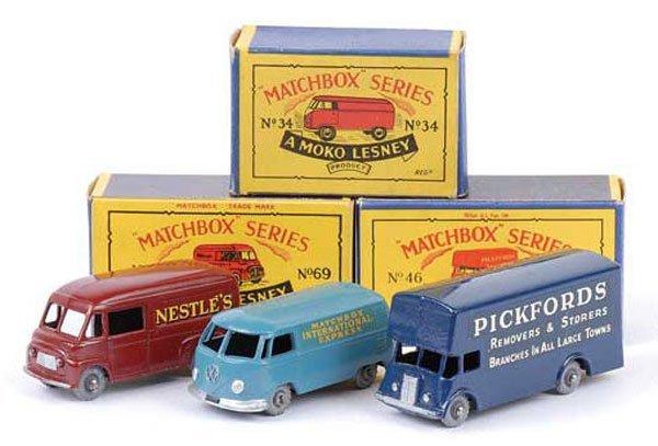 1012: Matchbox Regular Wheels - A Group of 3