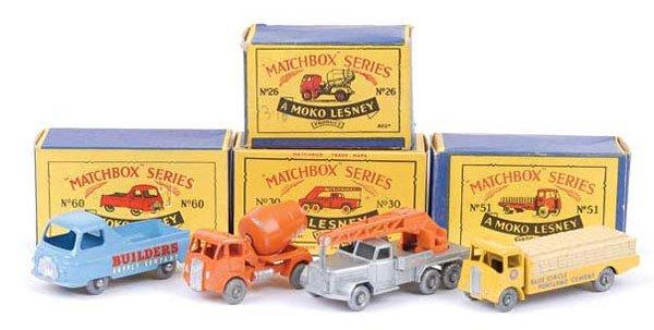 1015: Matchbox Regular Wheels - A Group of 4