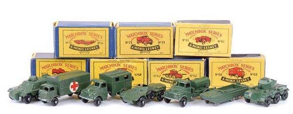 1017: Matchbox Regular Wheels Military Related
