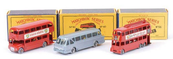 1018: Matchbox No.5c Routemaster Bus & Others