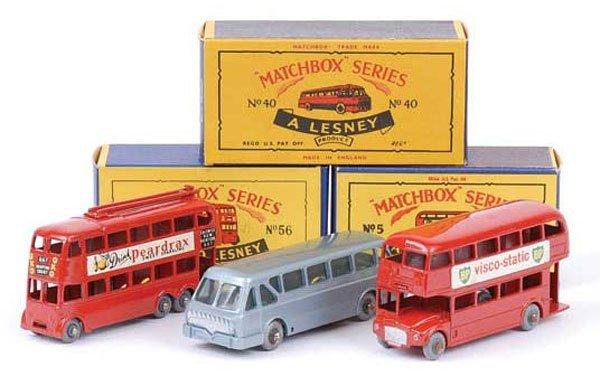 1019: Matchbox No.5c Routemaster Bus & Others