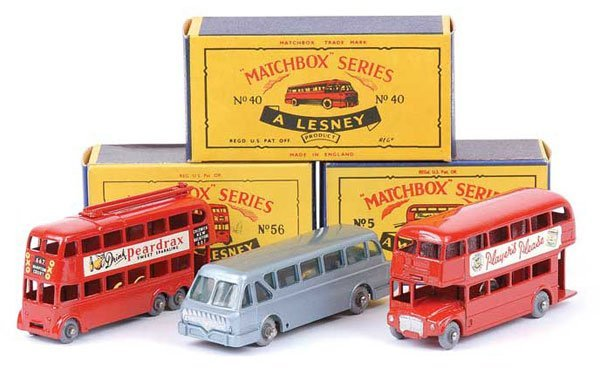 1020: Matchbox No.5c Routemaster Bus & Others