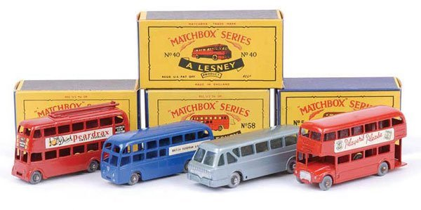 1022: Matchbox No.5c Routemaster Bus & Others