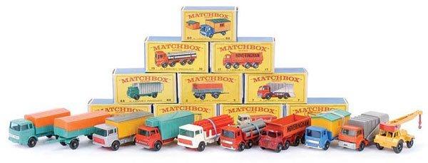 1024: Matchbox Regular Wheels - A Group of 10