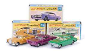 1140: Matchbox Superfast No.22 Pontiac Coupe & Others