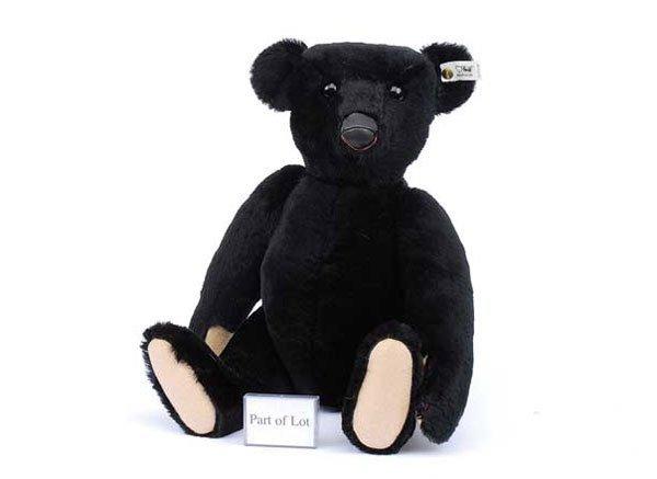 2003: Steiff 1907 Black Teddy Bear Replica