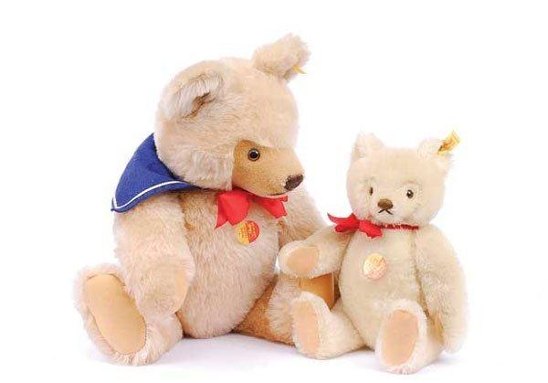 2006: Steiff - A Pair of Original Teddy Bears