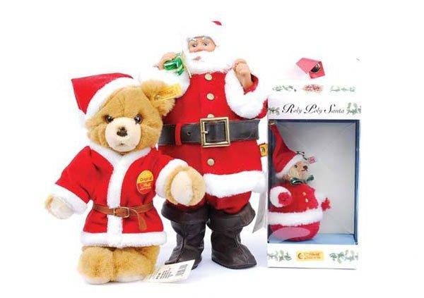2012: Steiff Roly Poly Santa Bear
