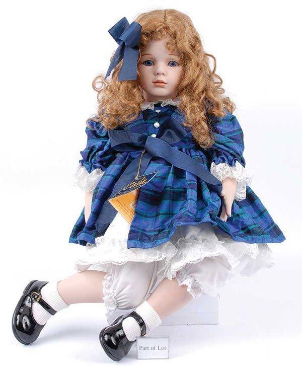 2202: Celia - 6 x Modern Porcelain Dolls