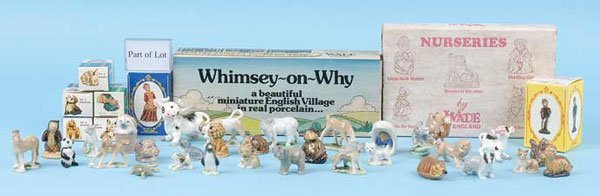 2388: Wade Whimsies Ceramic Miniatures
