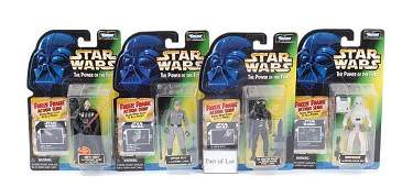 2509: Kenner (Hasbro) Power of the Force Figures