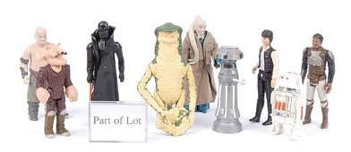 2591: Palitoy/Kenner Star Wars Vintage Figures