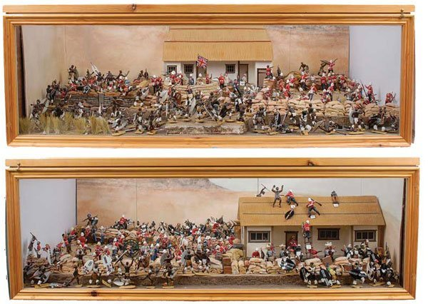 3085: Trophy Miniatures & Similar-Rorkes Drift Diorama