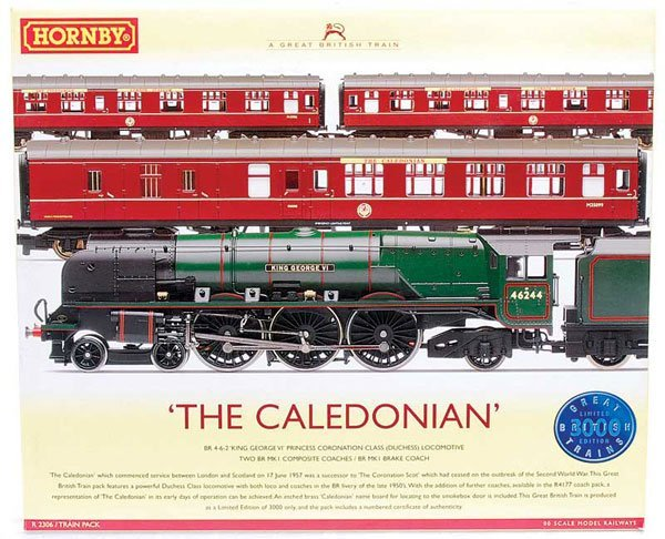 "4016: Hornby R2306 ""The Caledonian"" Train Pack"