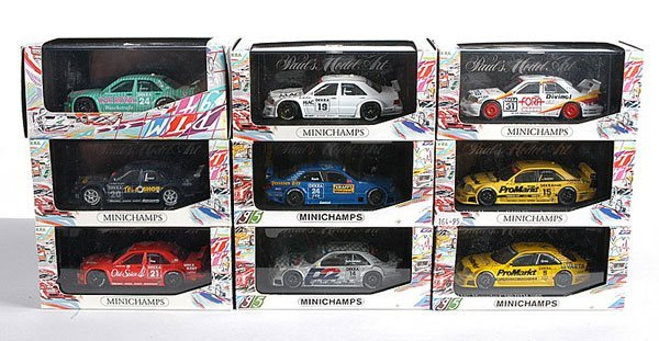2: Minichamps - A Group of German Touring Cars