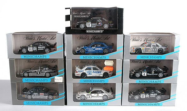 4: Minichamps - A Group of German Touring Cars
