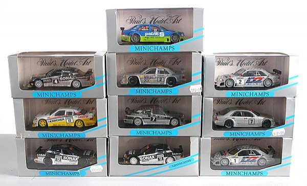 5: Minichamps - A Group of German Touring Cars