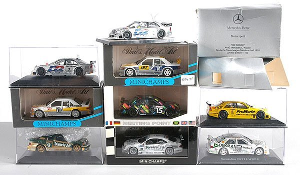 6: Minichamps - A Group of German Touring Cars
