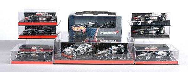 8: Minichamps & Hot Wheels McLaren F1 Cars