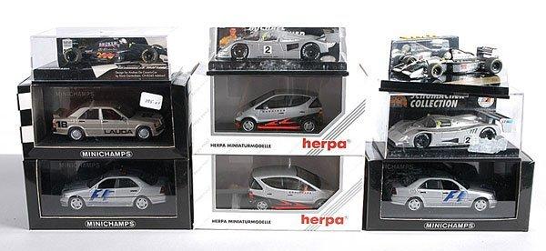 9: Minichamps, Herpa, Onyx - Formula 1 Cars