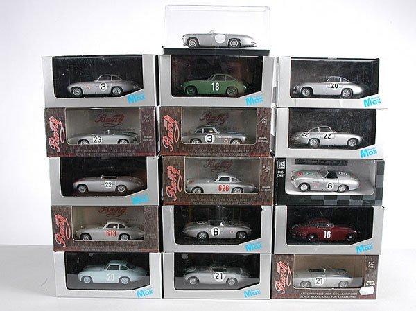 12: Max Models, Bang - 1950s Mercedes Racing Cars