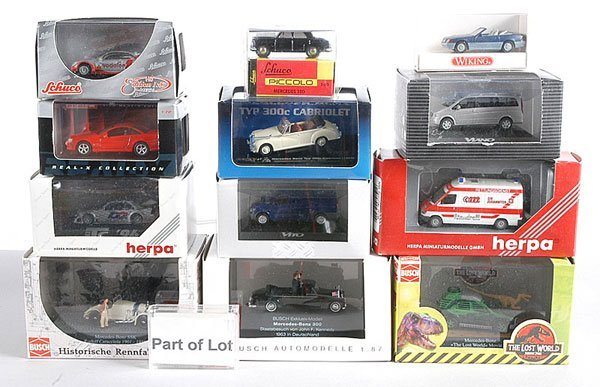 17: Herpa, Schuco - 1/87th scale Cars & Commercials