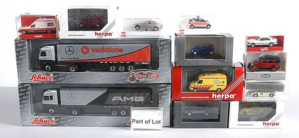 18: Wiking, Herpa - 1/87th scale Cars & Commercials