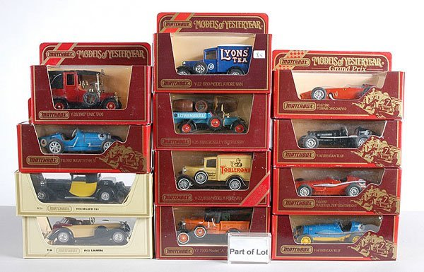 19: Matchbox MOY - A Group of Cars & Commercials