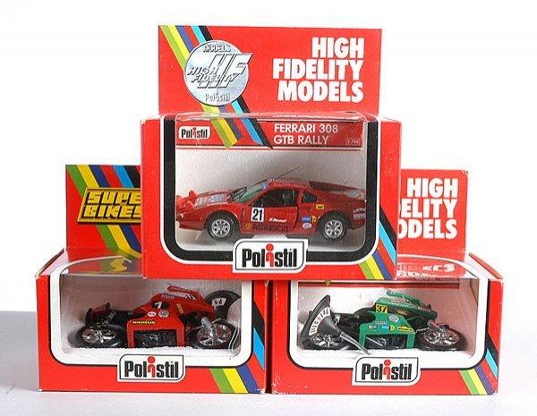 20: Polistil S708 Ferrari 308 GTB Rally Car & Others