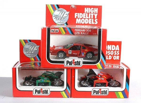 21: Polistil S708 Ferrari 308 GTB Rally Car & Others