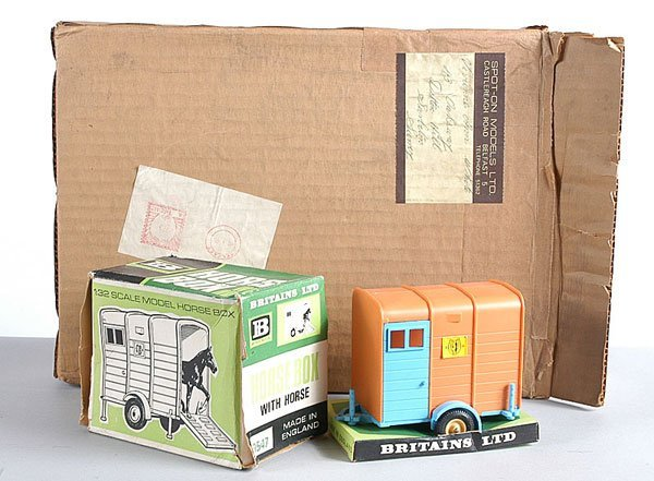 23: Britains No.9547 Horsebox & Others